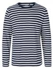 White   Navy (Striped)